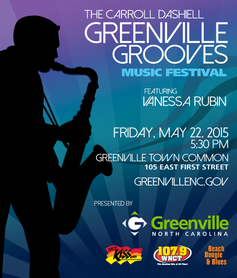 Greenville To Groove To Vanessa Rubin