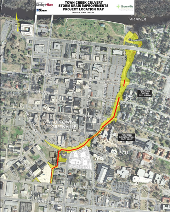 Town Creek Culvert Project Moves Forward