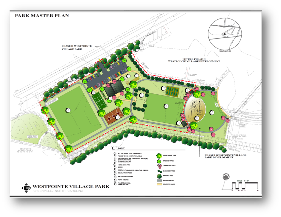 Westpointe Village Park Schematic Design Approved