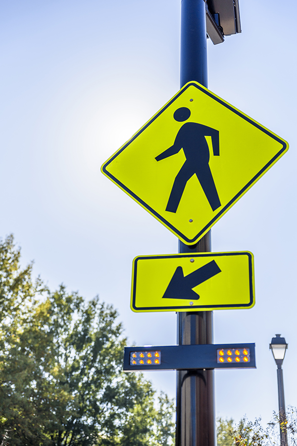 City Unveils Latest Pedestrian Safety Improvement