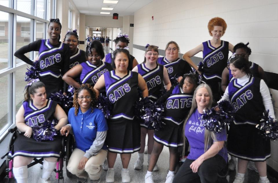 Special Olympics Cheer