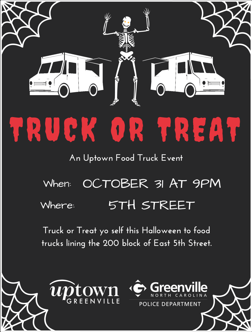 Truck or Treat Flyer 2017