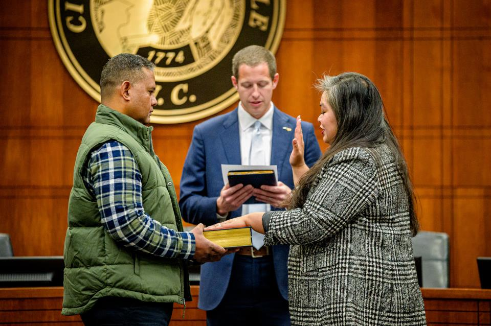 Shiuwegar Takes Over Role as City Clerk