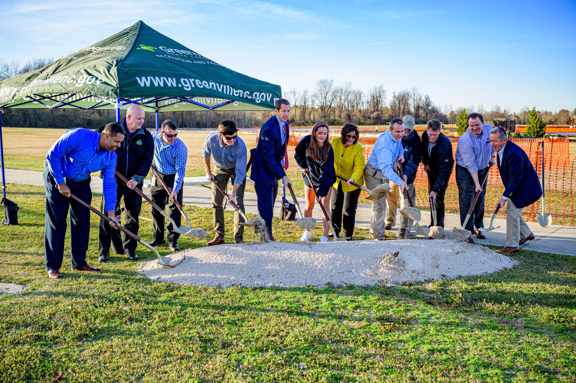 Greenville Breaks Ground on Beach Volleyball Facility