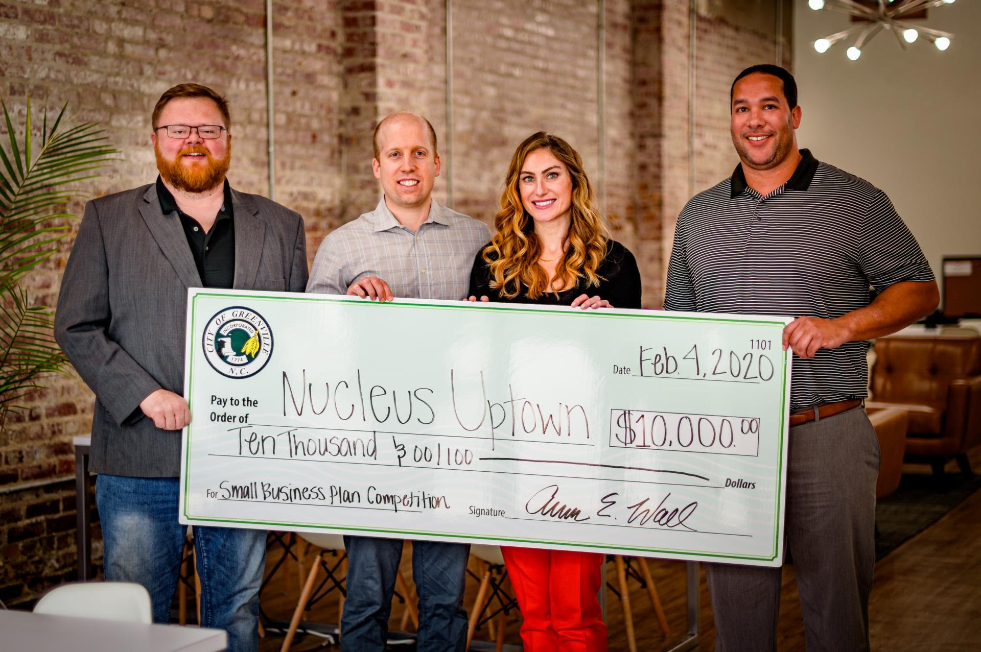 Nucleus Uptown Small Business Winner