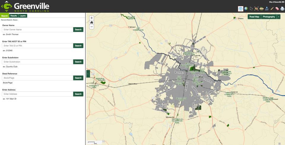 GIS | Greenville, NC