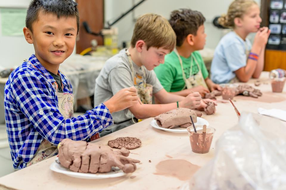Famous Artist Camp - Pottery