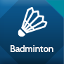 Badminton Web Button