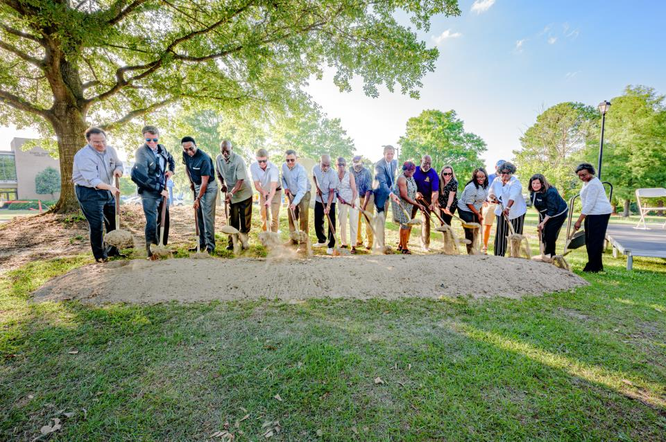 Breaking Ground: Sycamore Hill Gateway Plaza Project Gets Underway