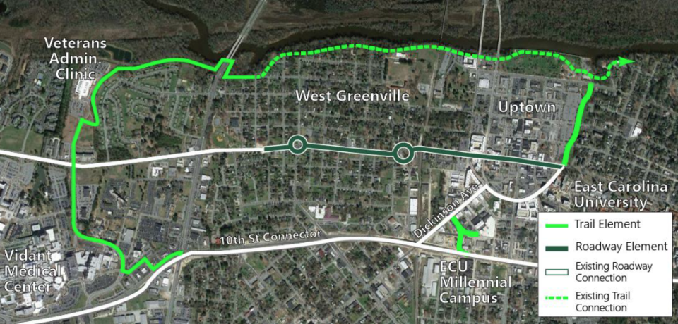 Greenville Awarded $15 Million BUILD Grant